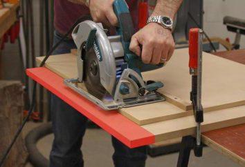 Manual de serra circular com instalação permanente: como escolher? extras