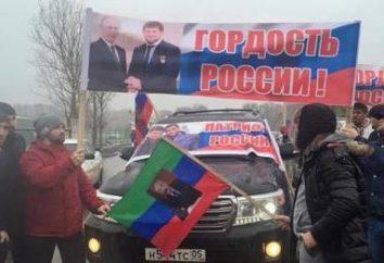 """Le """"Caucasian Knot"""" (Tchétchénie, Grozny)"""