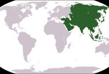 les pays d'Asie et leurs capitales, célèbres dans le monde entier