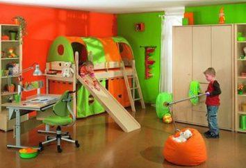 Zone sportive dans un appartement pour un enfant. Comment faire un coin de sport avec leurs mains?