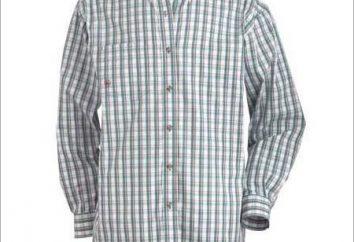 La elección de la camisa de los hombres de moda de manga larga