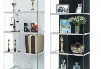 vitrine de vidro – um pedaço espetacular de mobiliário