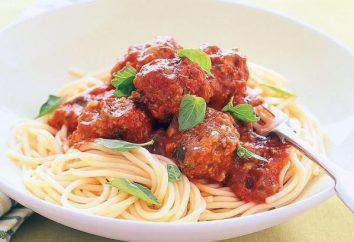 Autentico Italiano spaghetti con le polpette: la ricetta originale