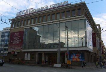 Komedia muzyczna, Jekaterynburg repertuar i aktorzy