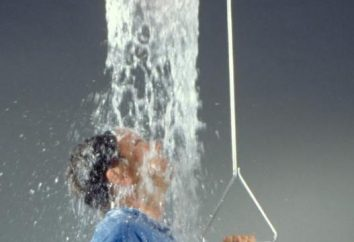 Awaryjne prysznic: opis i opinie
