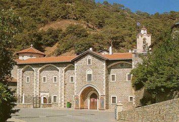 antico monastero e sorprendente Kiksky a Cipro