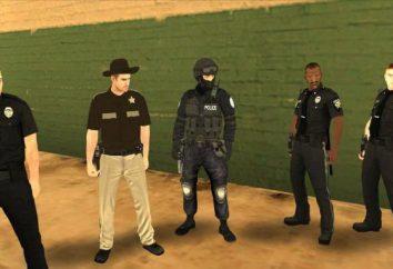 Comme dans « GTA: San Andreas » pour être un agent de police. Mission ou de la mode?