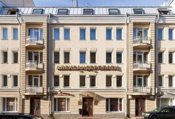 "« AlexanderPlatz » – hôtel haut de gamme à Saint-Pétersbourg. Hôtel ""Aleksandr Platts"": photo, avis"