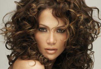 Le secret de la beauté: signifie le coiffage des cheveux