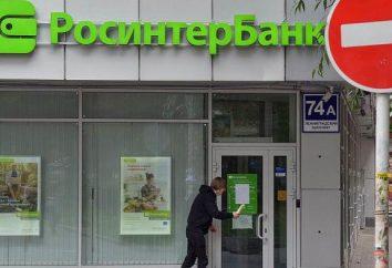 """Avis. """"RosinterBank"""": les dépôts, les prêts"""