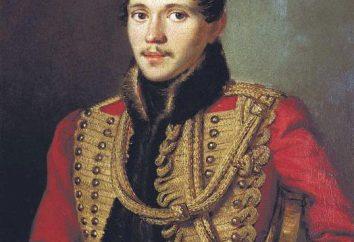 """Historia de la creación y análisis del poema """"nubes"""" Lermontov"""