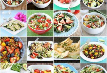 Ensalada con semillas de sésamo: recetas con fotos