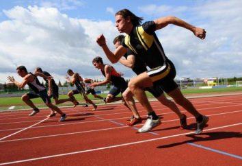 Scarichi in atletica come un modo per il successo