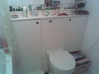 Aby dokonać napraw w łazience. Szafa sanitarnych własne ręce