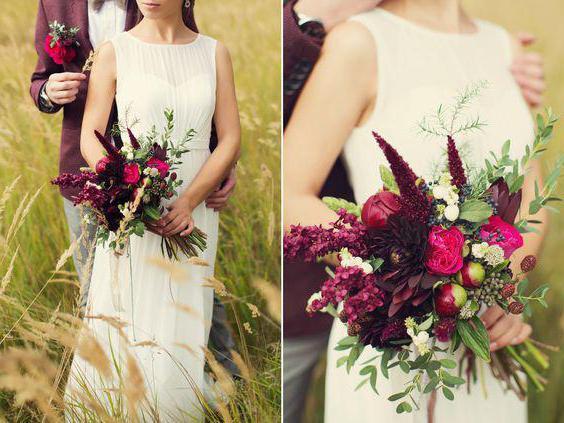Matrimonio In Bordeaux : Matrimonio in colore bordeaux idee per la decorazione foto