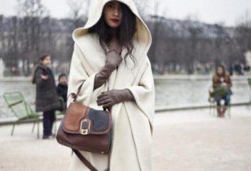 Manteau avec capuche et manches