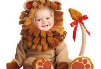 costume Lion per un bambino non è difficile fare le proprie mani!