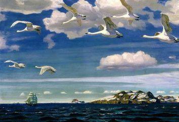 """Composición sobre la pintura de Rylov """"En el espacio azul"""": consejos sobre la escritura"""