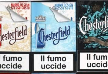 """Papierosy """"Chesterfield"""" – przyjemność smaku!"""