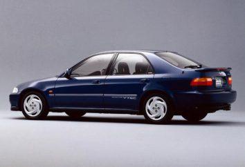 """""""Honda Civic Ferio"""": specyfikacje techniczne i opis modeli trzech pokoleń japoński sedan"""