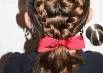 penteados elegantes para o cabelo longo para meninas