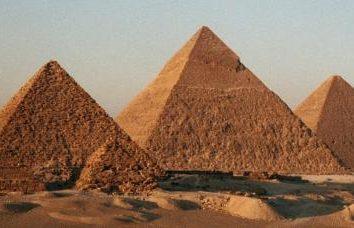 Egipskie piramidy: ciekawostki. Sekrety egipskich piramid