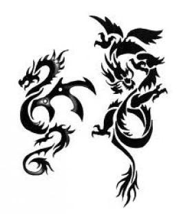 Tatuaż Smoka Rodzaje Smoków Foto