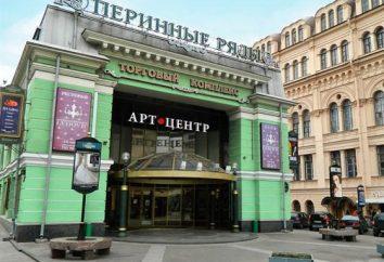 Centrum Sztuki w Perino plasuje: adres. Salony Petersburg