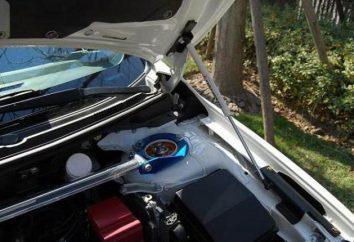 Comment installer une voiture de capot amortisseur avec leurs mains