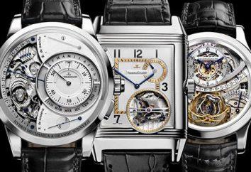 Évaluation des marques horlogères suisses. Les meilleures montres suisses
