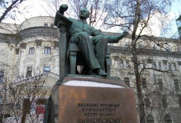 Ungewöhnliches Denkmal für Tschaikowski in Moskau und alle mit ihm verbundenen Stadtlegenden