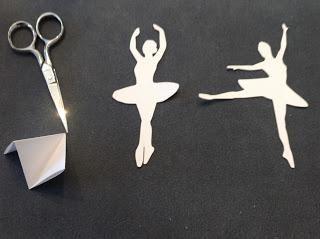 Oryginalne baleriny Snowflake papieru: warsztaty