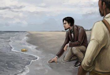 "Edgar Allan Poe, ""The Golden Beetle"": résumé"