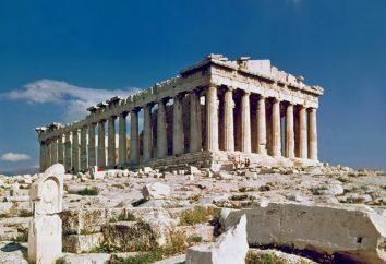 O arquiteto do Parthenon em Atenas