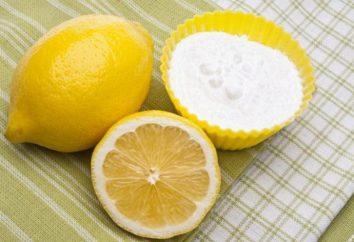Jus de citron: dommages et avantages, propriétés