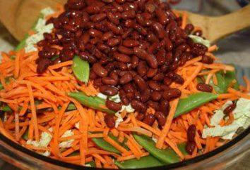 Comment préparer une salade de carottes et de haricots coréenne?