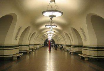 "La station de métro ""Alekseevskaya"" sur Prospekt Mira"