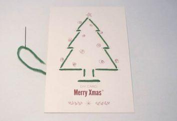 """Pocztówka """"Wesołych Świąt!"""" Własnymi rękami: my sami"""