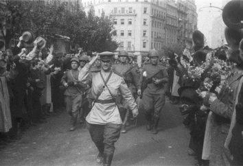 La libération de l'Europe du fascisme. pour la libération des opérations européennes
