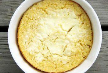 casserole délicieux de la bouillie de mil