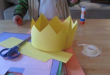 Wir bereiten uns auf den Karneval: die Königskrone aus Papier