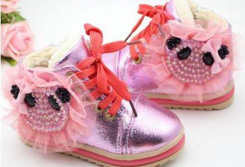 Cuáles deben ser los zapatos de invierno para las niñas?