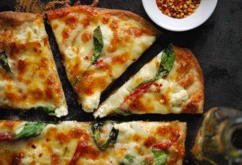 Contenu calorifique de la pizza à partir de farine de grains entiers et remplissage alimentaire