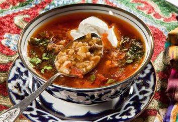 Shurpa della zuppa orientale – una ricetta per il piacere