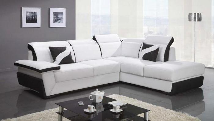 La dimensione ottimale del divano ad angolo per il salotto ...