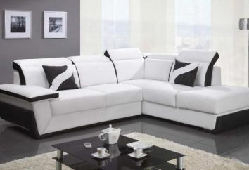 La dimensione ottimale del divano ad angolo per il salotto. Dimensioni divano letto ad angolo