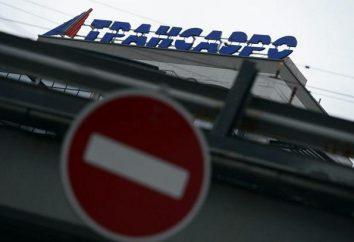 """Transportador falência. """"Transaero"""": causa problemas financeiros companhias aéreas"""