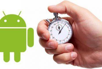 """Come velocizzare """"Android"""" – uno smartphone e un tablet? raccomandazioni del programma"""