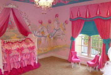 Rideaux pour les chambres pour les filles enfants – choisir le meilleur