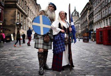 Noir et blanc – sang de whisky écossais